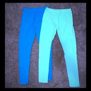 2 pairs girls Fabkids leggings.... size 14